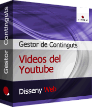 Gestor de Continguts CMS Joomla! - Videos Youtube